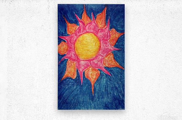 Sun Shiny Day  Metal print