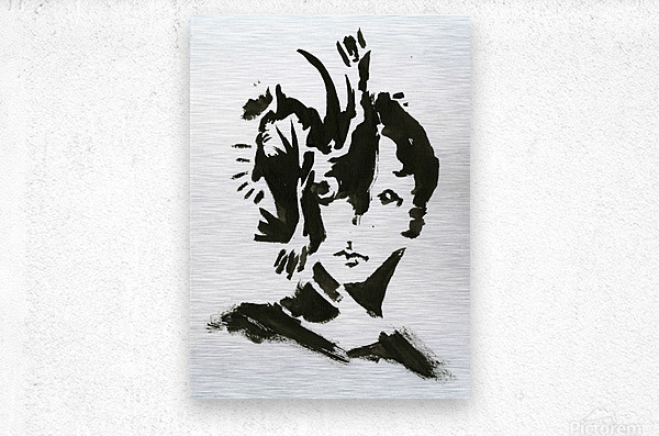 Keen Eye  Metal print