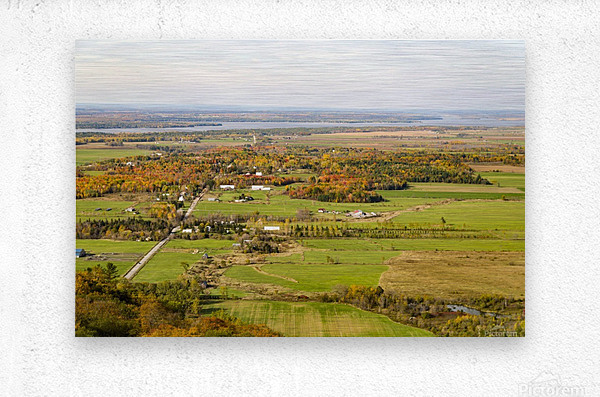 View of Ottawa Valley in Autumn18  Metal print