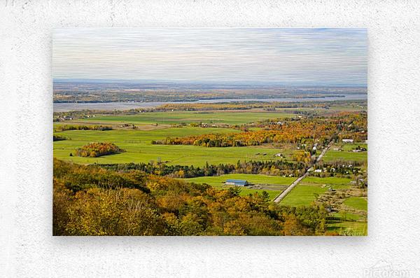 View of Ottawa Valley in Autumn17  Metal print