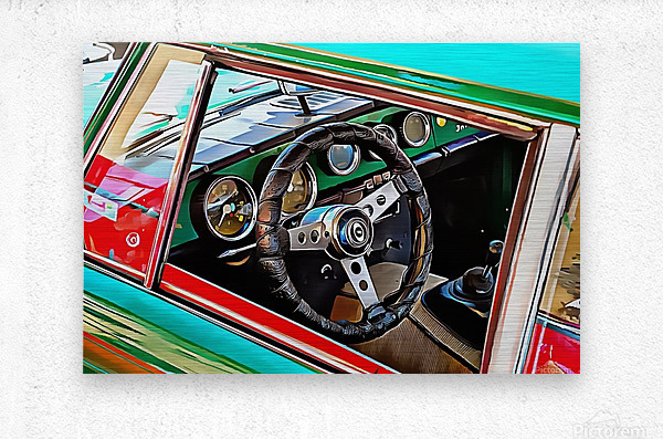 Innocenti Through the Window  Metal print