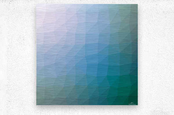 patterns low poly polygon 3D backgrounds, textures, and vectors (48)  Metal print