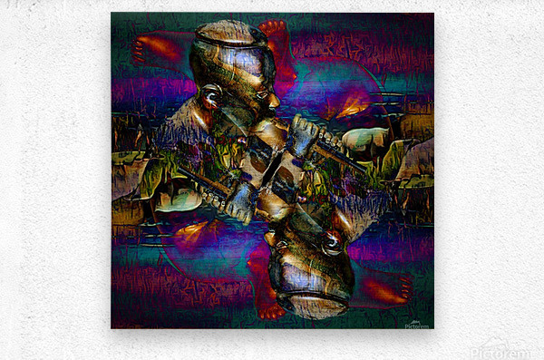 The Little Shepherd Boy  Metal print