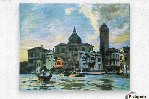 Palazzo Labia, Venice by John Singer Sargent  Metal print