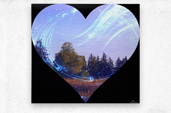 Heart (7).gif  Metal print