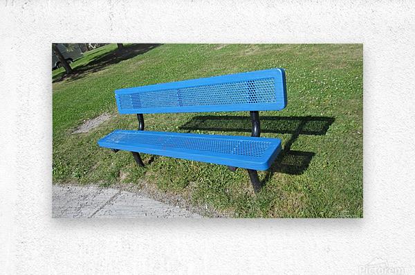 Bench (19)  Metal print