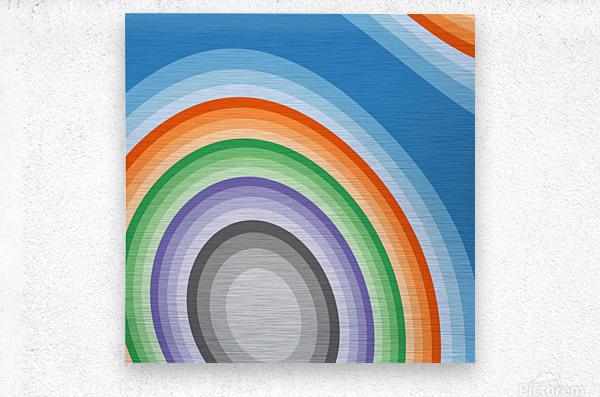 Abstract art (7)_1558001570.36  Metal print