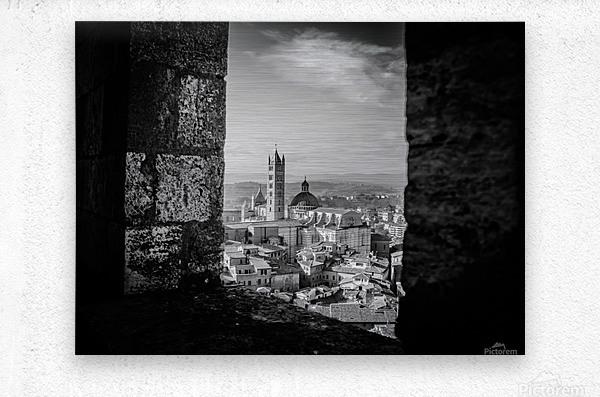 Bnw Siena Tower  Metal print