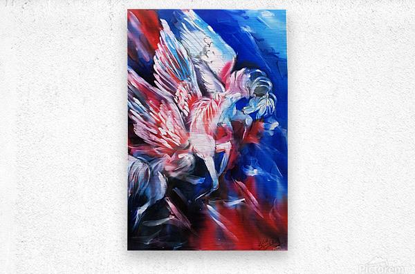 Pegasus  Metal print