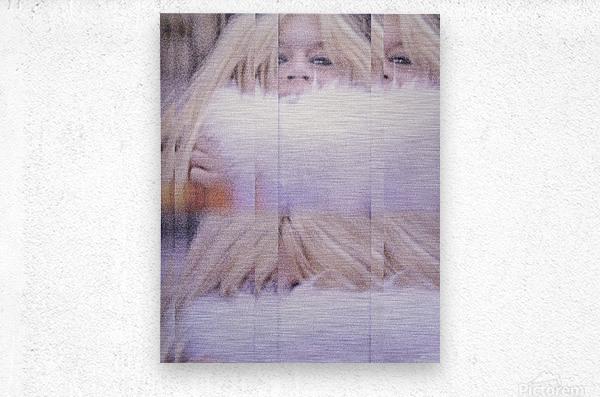 Brigitte  Metal print