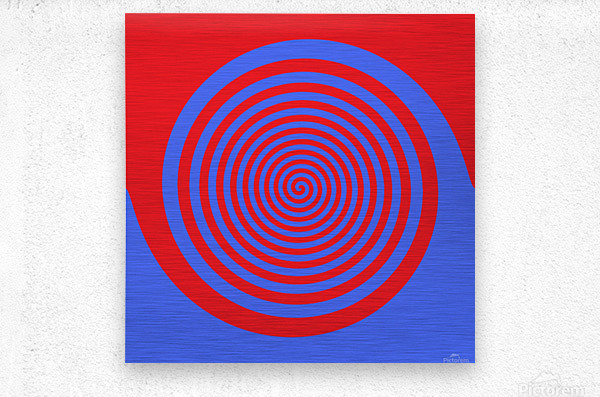 This is a beautiful design with great color, shape, line, texture, space and value.  (21)  Metal print