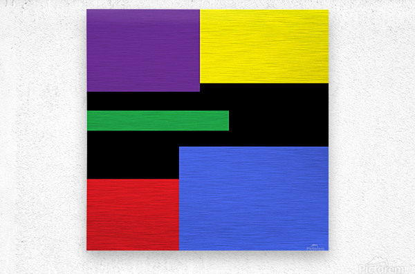 This is a beautiful design with great color, shape, line, texture, space and value.  (35)  Metal print