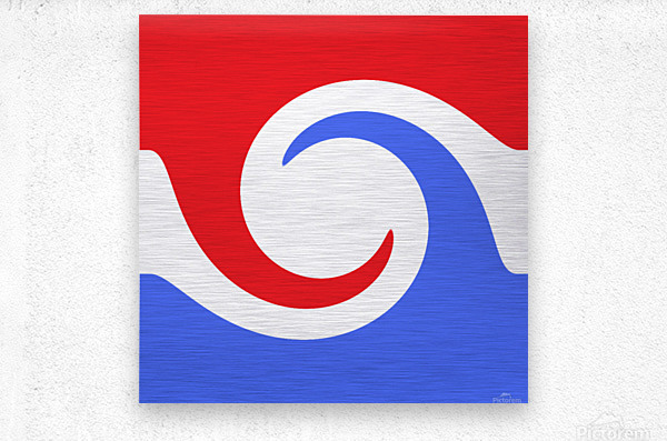 This is a beautiful design with great color, shape, line, texture, space and value.  (2)  Metal print