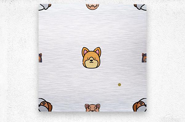 Dog (57)  Metal print