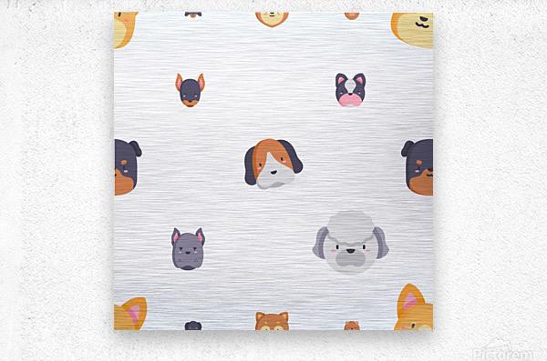 Dog (55)  Metal print