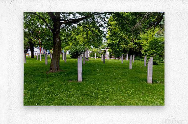 Civil War Memorial 11  Metal print