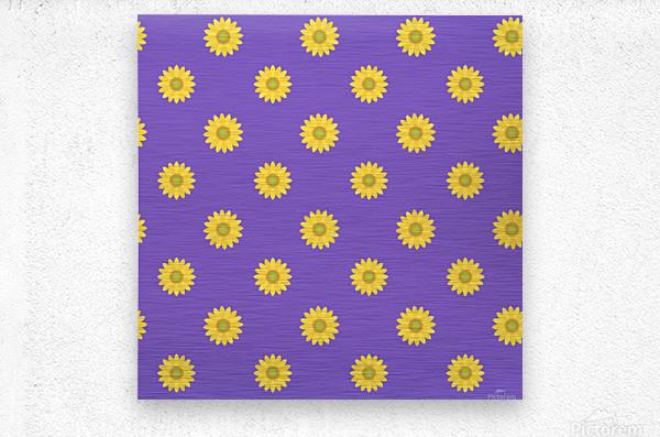 Sunflower (35)  Metal print