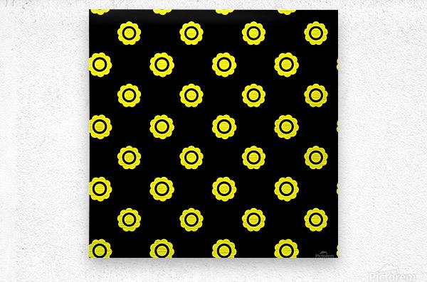 Sunflower (26)_1559875861.291  Metal print