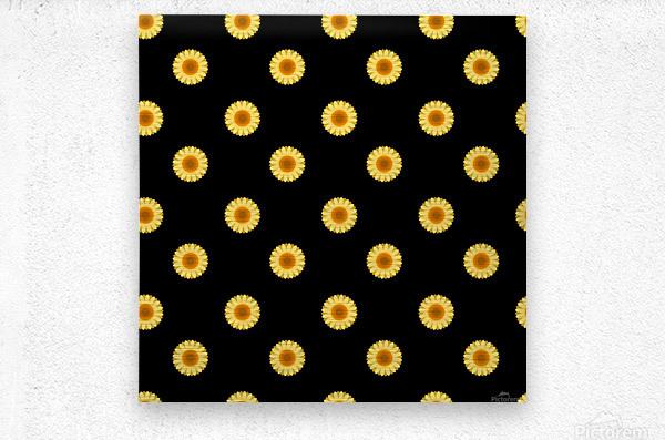 Sunflower (30)_1559875865.0546  Metal print
