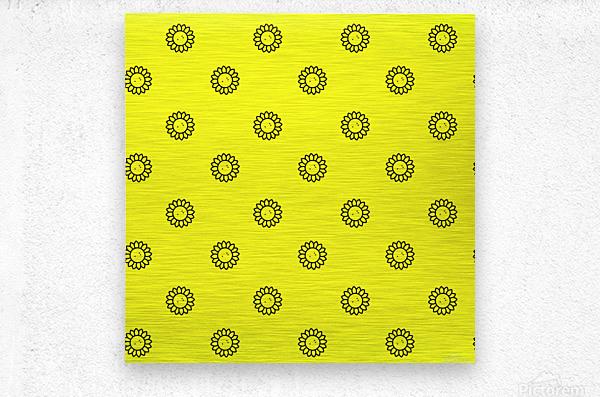 Sunflower (25)_1559876169.8918  Metal print