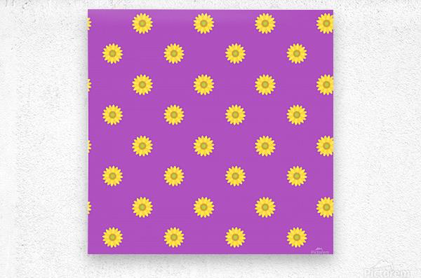 Sunflower (34)_1559876246.9828  Metal print
