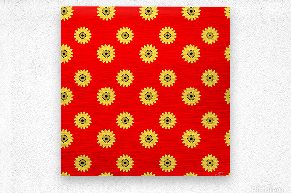 Sunflower (43)_1559876251.5012  Metal print
