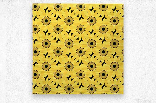 Sunflower (45)_1559876382.1976  Metal print