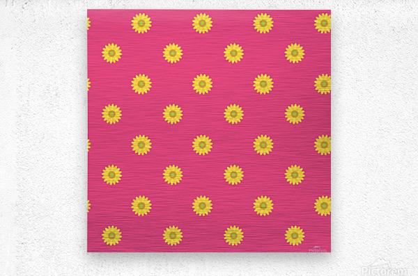 Sunflower (33)_1559876732.0608  Metal print