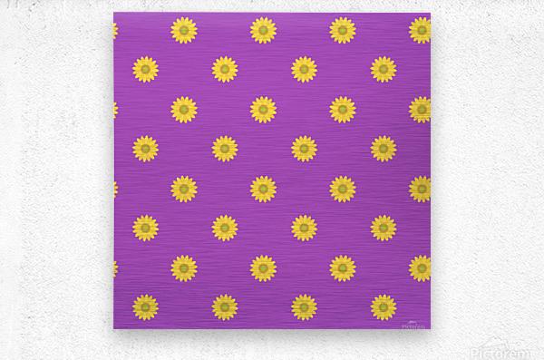 Sunflower (34)_1559876732.17  Metal print