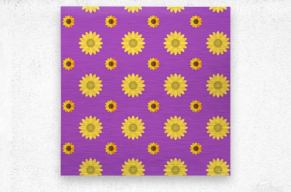 Sunflower (7)_1559876669.8225  Metal print