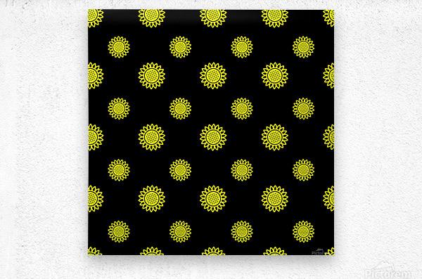 Sunflower (24)_1559876737.3838  Metal print