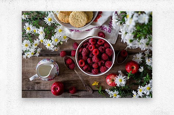 Apples Berries   Metal print