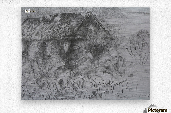 Desolation  Metal print