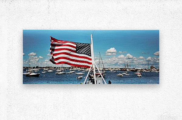 Newport Rhode Island - Harbor View  Metal print