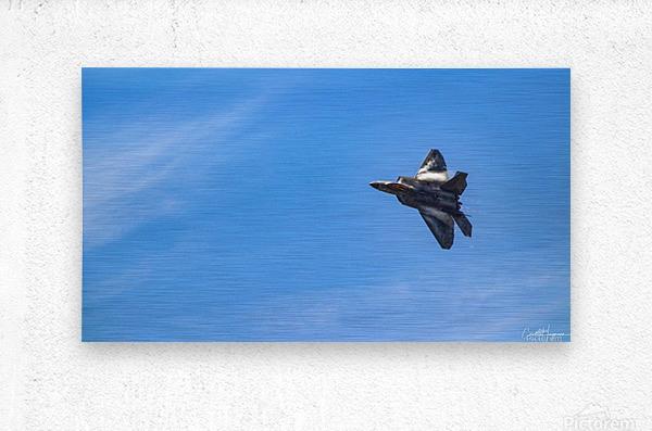 F22 raptor   Metal print