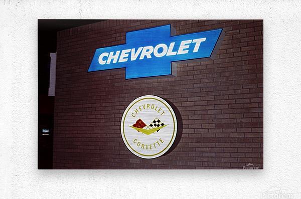 Chevrolet Corvette Bowling Green Kentucky  Metal print