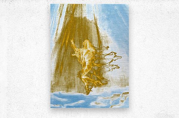 Ascending Angel  Metal print