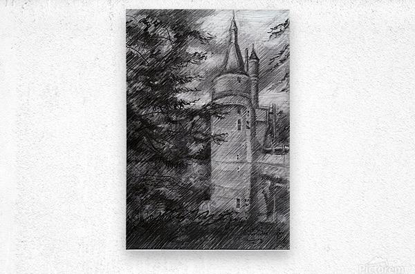 Wijk bij Duurstede – 13-05-19  Metal print