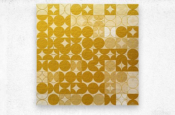 Geometric XIX v2  Metal print