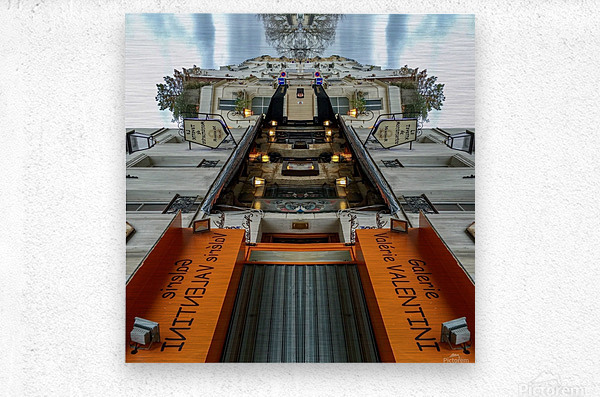 Paris - Rue Gabrielle  Metal print