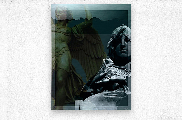 The Rejection of Caine  Metal print