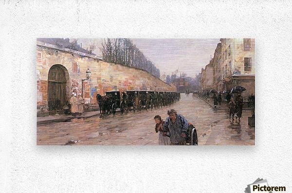 Rue Bonaparte by Hassam  Metal print