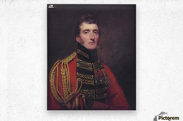 Lieutenant General William Stuart  Metal print