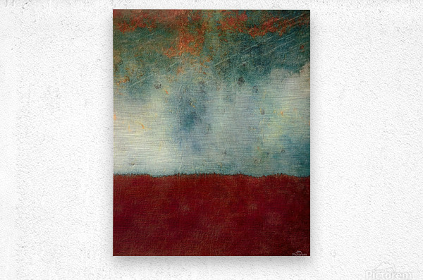 The Gathering Storm  Metal print