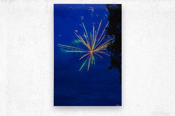 Fireworks 2019 8  Metal print