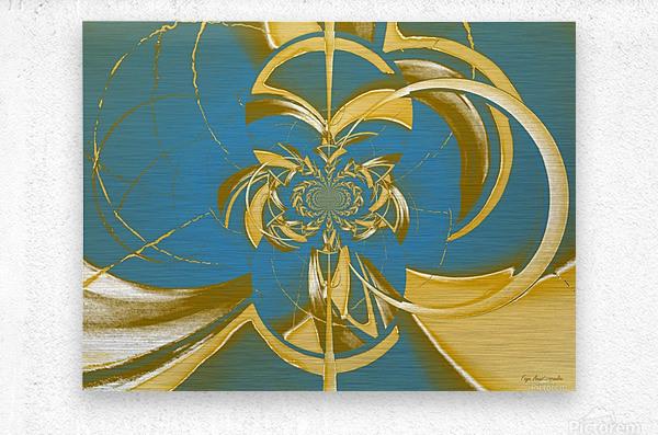 Classic Royal Design  Metal print