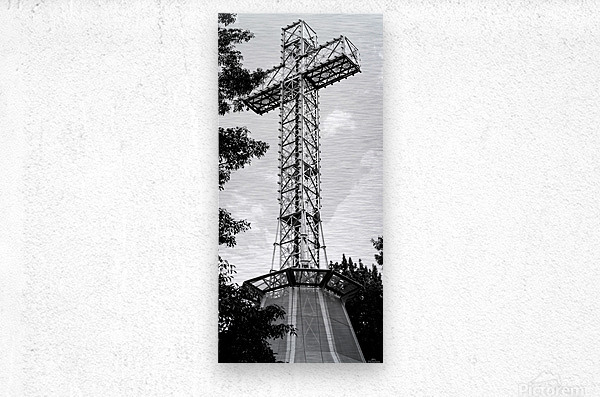 cross6  Metal print