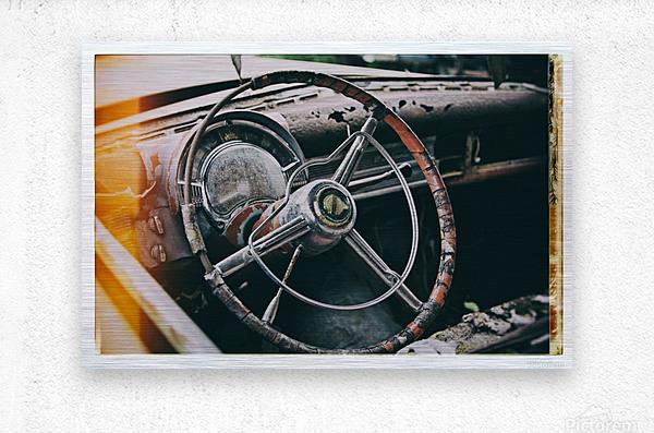 Vintage Chrysler  Metal print