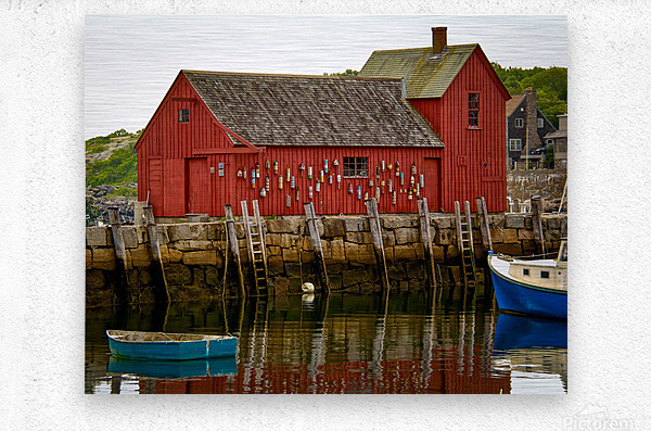 Motif Number 1 - Rockport MA  Metal print