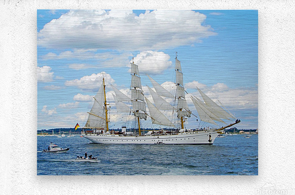 Tall Ships  Newport  Rhode Island  Metal print
